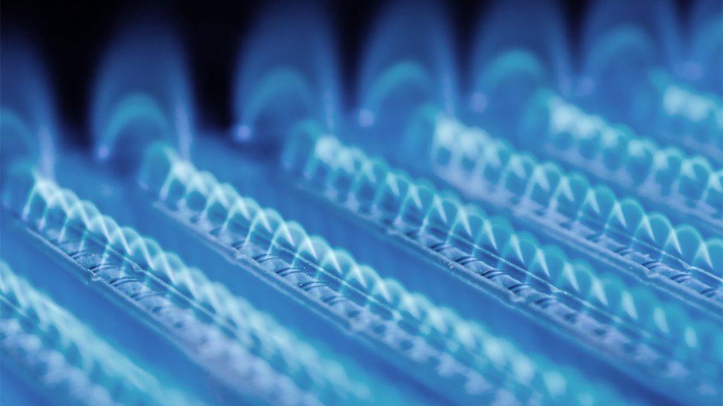 Heizungsanlage in Form von Gasheizung.
